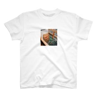 Shogo Hirokiのcafe T-shirts
