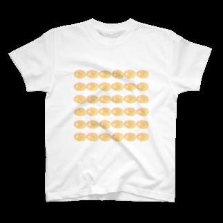 水草のスーパーオレンジ玉 T-shirts