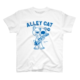 ALLEY CAT 〜ドラ猫モータース ギター/ナックル〜 T-shirts
