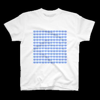 水草のハイパーブルー玉 T-shirts