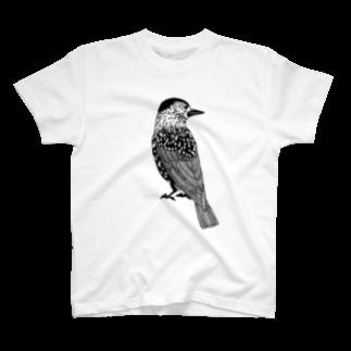 まつのき商店のホシガラス T-shirts