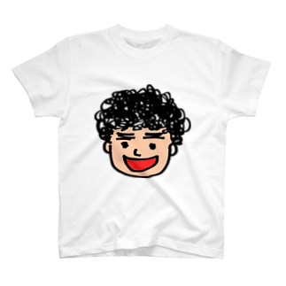 つきタンの月タン似顔絵 T-shirts