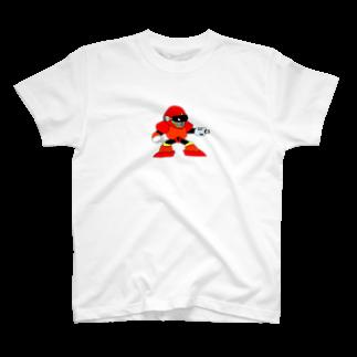 銀鈴堂(ミッドナイトクラブ)のレッドマン T-shirts