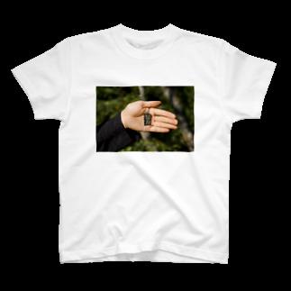 竹下キノの店のなるべく努力しましょう T-shirts