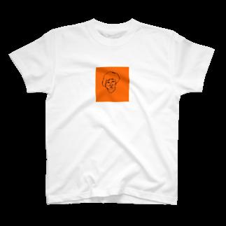 ことなのリアルタッチ顔面こちま T-shirts