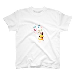 お洋服を着た猫 T-shirts
