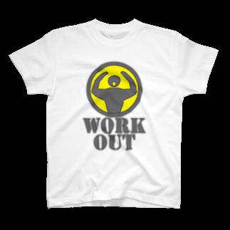 AURA_HYSTERICAのWorkout T-shirts