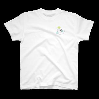 コッペパンのエンジェルネッコ T-shirts