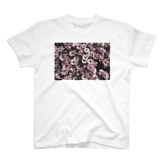 y_toniのflower T-shirts