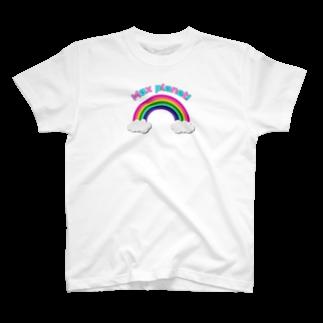 ozimaaのrainbow Max planet! T-shirts