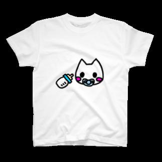 ☆べあごのおへや☆のばぶ^^くん T-shirts