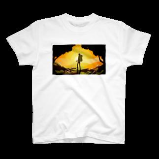 Gbの冒険 イラスト T-shirts