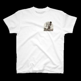 Gbのジ・エンターテイナー イラスト レトロ キャラクター T-shirts