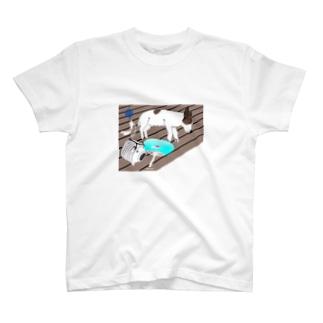 銀じいさんのなつやすみ-8月- T-shirts