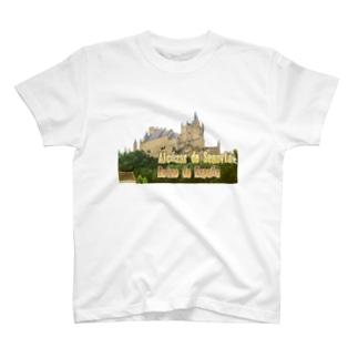 スペイン:セゴビアのアルカサル Spain: Alcázar de Segovia T-shirts