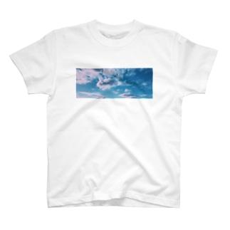 ポリゴン空 T-shirts