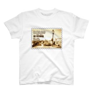 スペイン:コルドバのグアダルキビール川★白地の製品だけご利用ください!! Spain: Guadalquivir at Córdoba★Recommend for white base products only !! T-shirts