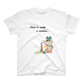 虹の作り方 T-shirts