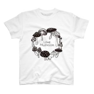 Love Mushroom T-shirts