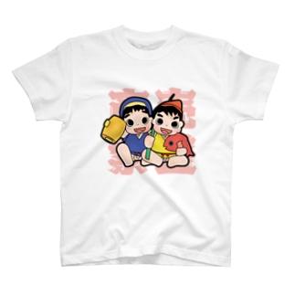 商売繁盛だいこくえびす T-shirts