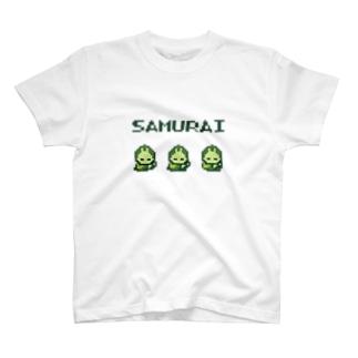 侍【レトロゲーム風】 T-shirts