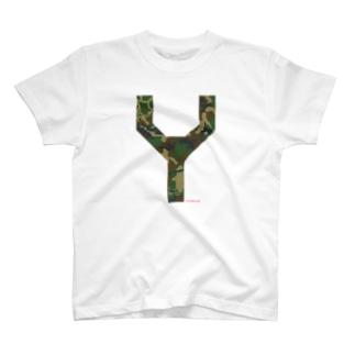 Y CAMO T-shirts