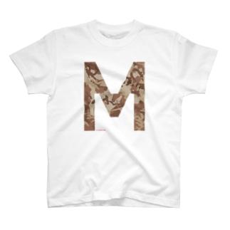 M CAMO T-shirts