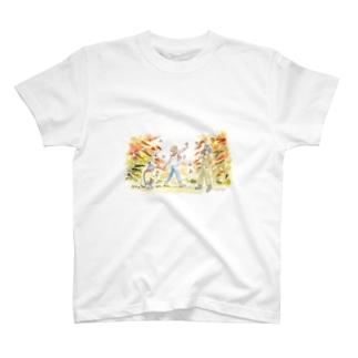 秋の気配 T-shirts