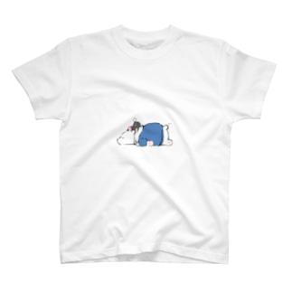 しろくまとくろねこ T-shirts