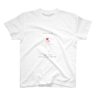 Heart hand T-shirts