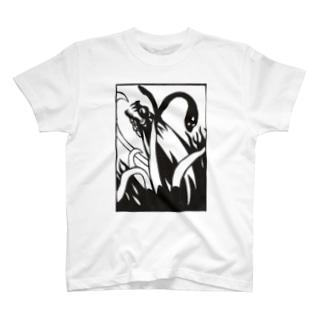 炎龍と大蛇 T-shirts