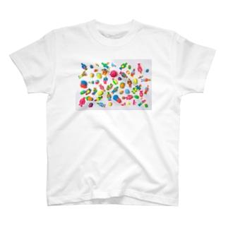 TAKAYA'S WORKS T-shirts