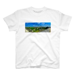 Okinawa view T-shirts