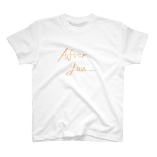 お先にどうぞ。 T-shirts