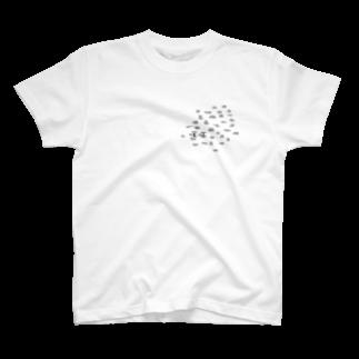 竹下キノの店の毛玉 T-shirts