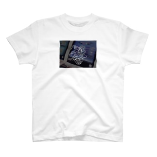 電脳少女ちゃん T-shirts