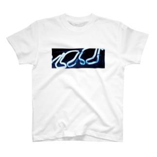 ネオン管Tシャツ T-shirts
