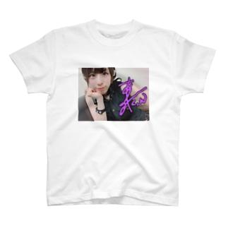 羽が生えたあみ T-shirts