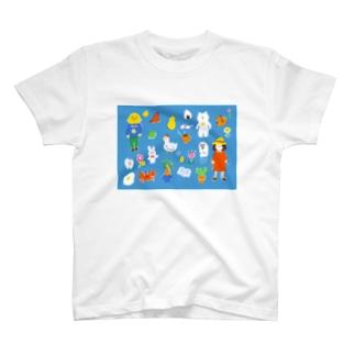 夏の終わりの思いつき T-shirts