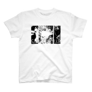 モノクロフォトTシャツ T-shirts