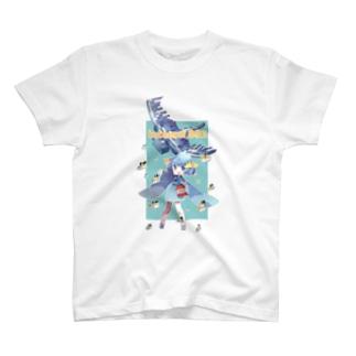 よこえさん作つぶ貝 T-shirts