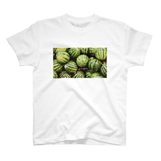 スイカ好きのためのスイカ T-shirts