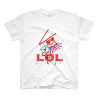 海中よりLOL! T-shirts