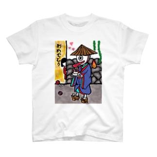 一つ目✖︎座敷童 T-shirts