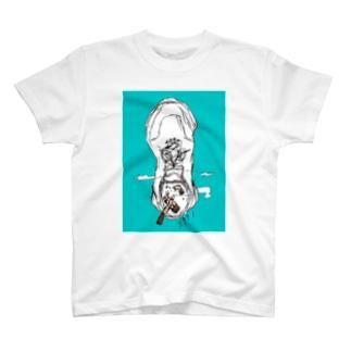 3991のsmoking shoes T-shirts