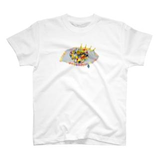 me me [ くろかわ ] T-shirts