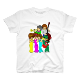 happy band T-shirts