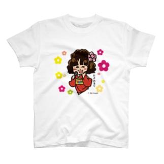 竹野留里Tシャツ T-shirts