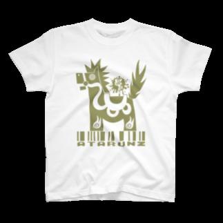 JOSTARDWのATARUNZマークⅡ八幡馬 T-shirts