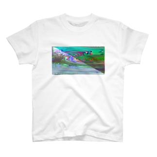 湖1 T-shirts